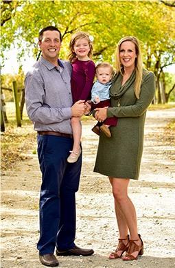 Dr. Vanderbrook and his wife and children